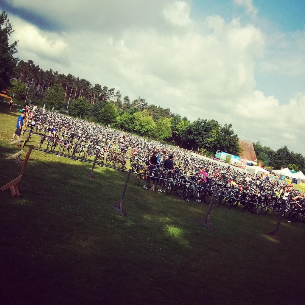 Rothsee Triathlon Radlager