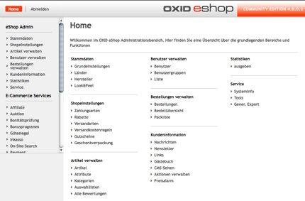 Oxid-Eshop-Screenshot